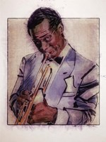 Jazz Man Fine Art Print