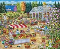 Garden Center Fine Art Print