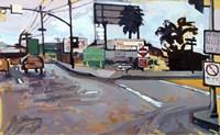 East Los Angeles Intersection Fine Art Print