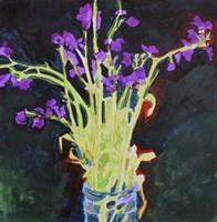 Midnight Violets Fine Art Print