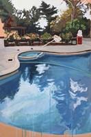 Backyard Pool Fine Art Print