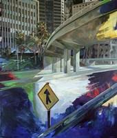 Downtown, Yield Fine Art Print