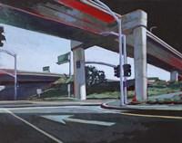 Driving in Orange County Fine Art Print