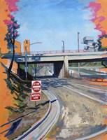 Freeway Exit Fine Art Print