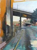 Golden Afternoon Drive Fine Art Print