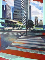 Los Angeles Intersection Fine Art Print