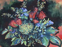 Midnight Bouquet Fine Art Print