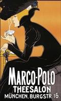 Marco Polo Tea Room 1905 Fine Art Print