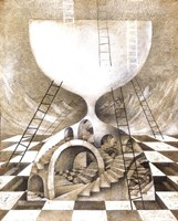 Mazes Of Time Fine Art Print