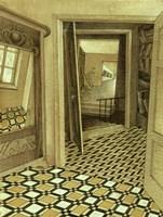 Digory Kirke's Apartments Fine Art Print