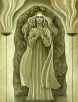 Aryan Queen Fine Art Print