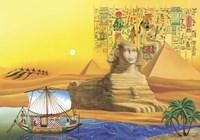 Egyptian Memories Fine Art Print