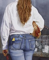 County Fair Girl Fine Art Print