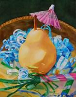 Party Pear Fine Art Print