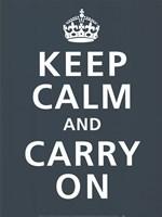 Keep Calm Fine Art Print