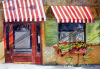 Cozy Cafe Fine Art Print