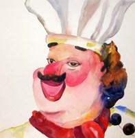 Main Chef Fine Art Print