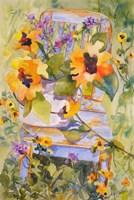 Sunflower Chair Framed Print