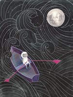 Boat to the Moon Fine Art Print