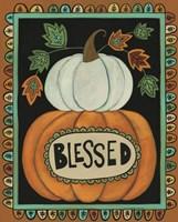 Blessed Pumpkins Fine Art Print