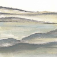 Valleyscape II Framed Print