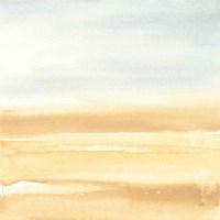 Ochre Sands I Framed Print