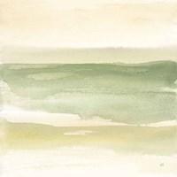 Green Water II Framed Print