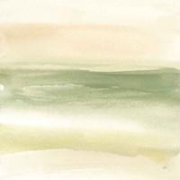 Green Water I Framed Print