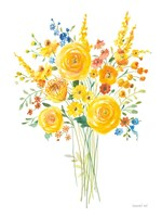 Sunshine Bouquet II Fine Art Print