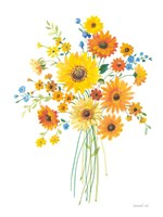 Sunshine Bouquet I Fine Art Print