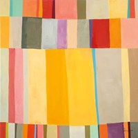 Sunshine Stripes II Fine Art Print