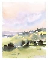 Spring Hills II Framed Print