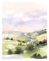 Spring Hills I Framed Print