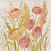 Opalescent Floral II Framed Print