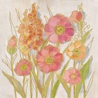 Opalescent Floral I Framed Print