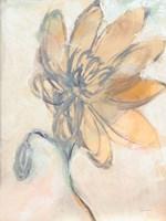Flower Loops I Framed Print