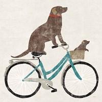 Lab Ride Fine Art Print