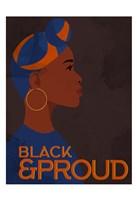 Black and Proud Woman Fine Art Print
