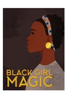 Black Girl Magic Fine Art Print