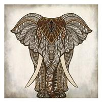 Mandala Elephant Fine Art Print