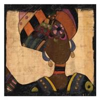 Ethnic Elegance I Fine Art Print