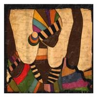 Ethnic Elegance II Fine Art Print