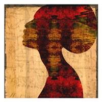 Nubian Queen II Framed Print