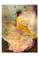 Flourished Dancer 2 Framed Print