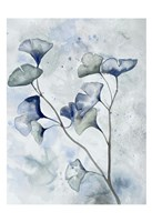 Moonlit Ginkos 1 Fine Art Print