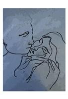 A Kiss 1 Fine Art Print