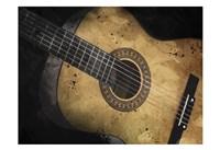 Acoustic Guitar Framed Print