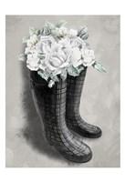 Rain Fall Blooms 1 Fine Art Print