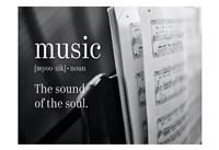 Music Sound of Soul Fine Art Print