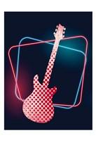 Neon Music 1 Framed Print